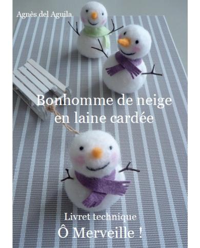Snowman booklet