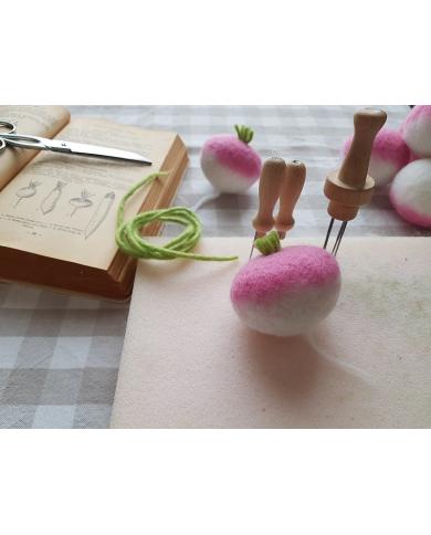 Atelier légumes feutrés - lundi 9 novembre - 14h - Atelier Annulé