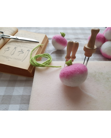 copy of Felted vegetables workshop - Saturday 11 April - 2 p.m.