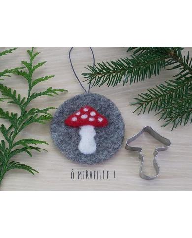 Amanita paddenstoel koekjes uitsteker