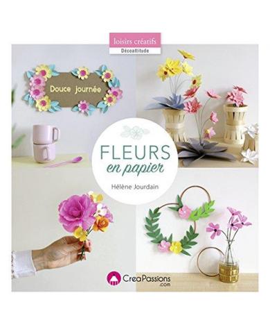 Papieren bloemen - Hélène...