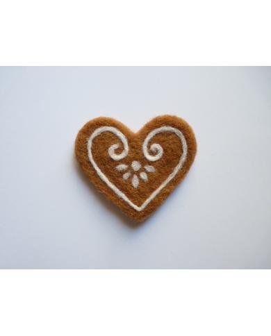 Groot hart koekjesvorm