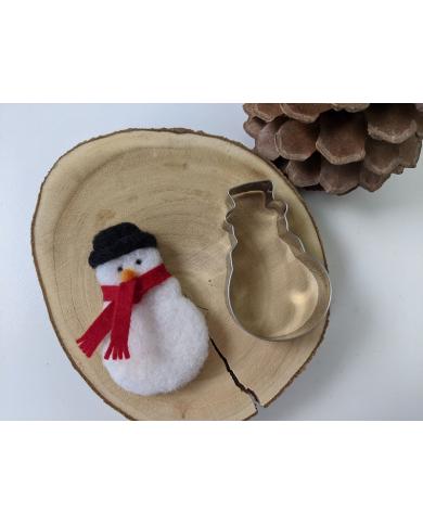 Emporte pièce bonhomme de neige