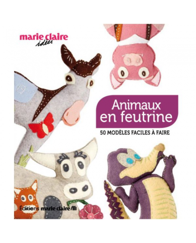 Felt animals marie claire...