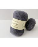 copy of Steel gray carded wool