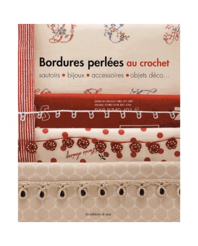 Beaded crochet borders - Chokers, jewelry, accessories, decorative objects ...