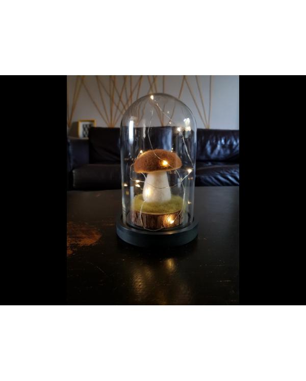 Lichtketting 10 micro LED warmwitte kleur voor uw kerstversiering