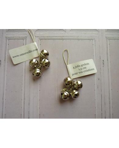 4 silver bells