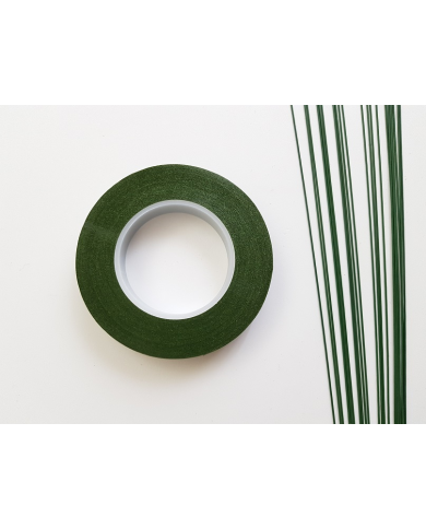 Green floral tape for floral art