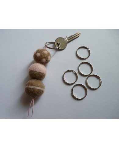 5 key rings