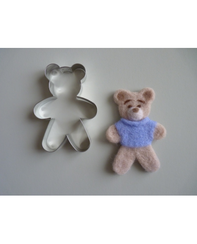 Big bear standing cookie cutter