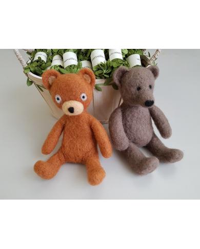 Workshop mijn vilten beren - dinsdag 14 april - volledige dag