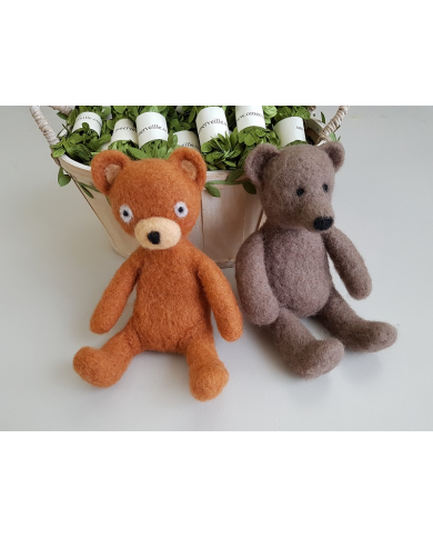 Workshop my felted bears - Tuesday April 14 - full day