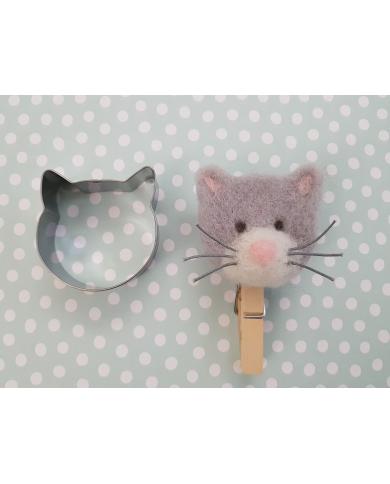 Emporte pièce tête de chat