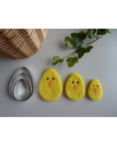 3 eierkoekjes of 3...