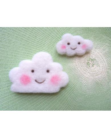 Kleine cloud cookie cutter