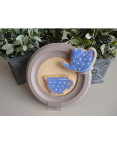 Cookie cutter beker