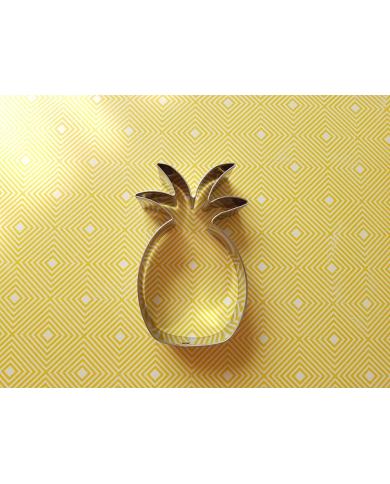 Grote ananas koekjes uitsteker