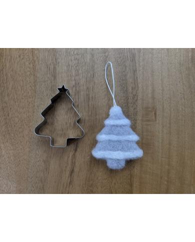 Emporte-pièce sapin de Noël