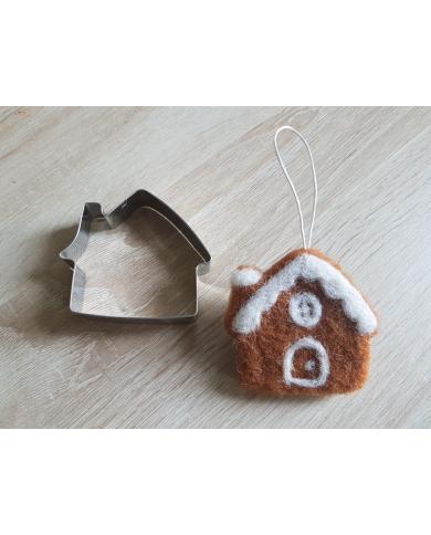Peperkoek huis cookie cutter
