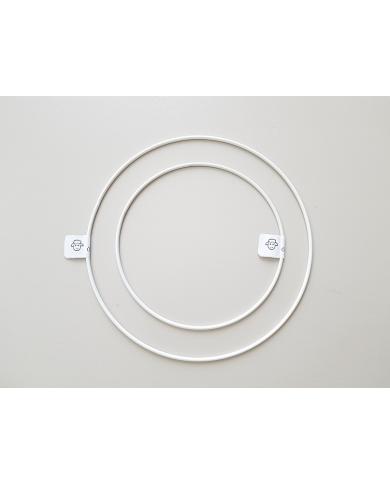 Metalen cirkel 30 cm voor kroon en dromenvanger
