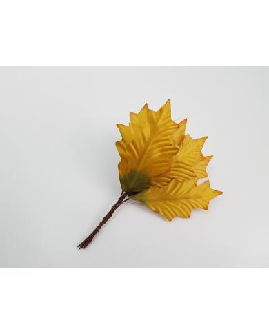 12 feuilles d'automne décoratives modèle 2