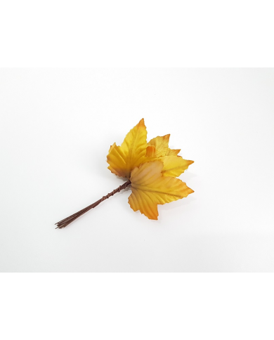 12 decorative autumn leaves model 2