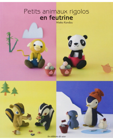 Small felt animals