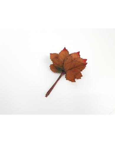 12 feuilles d'automne décoratives modèle 3