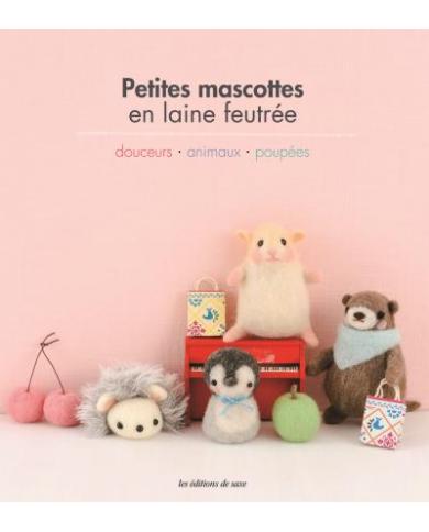 Kleine mascottes van gevilte wol