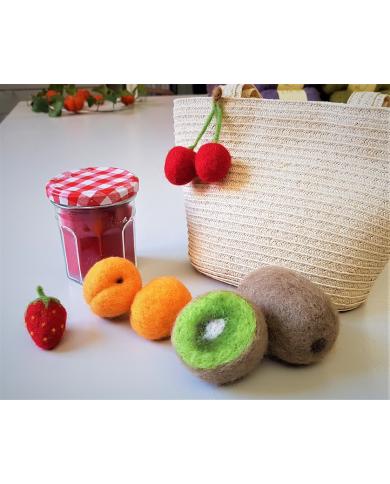 Atelier fruits feutrés - mercredi 15 juillet - 14h